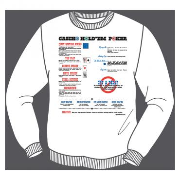 Casino Hold'em Poker Sweatshirt